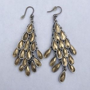 Jewelry - Mixed Metal Dangle Earrings